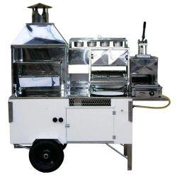 Carrinho de Churrasco, Hot-Dog, Pastel, Batata Frita e Lanche (Modelo 5 em 1)