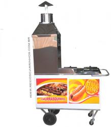 Carrinho de Churrasco e Hot Dog SIMPLES